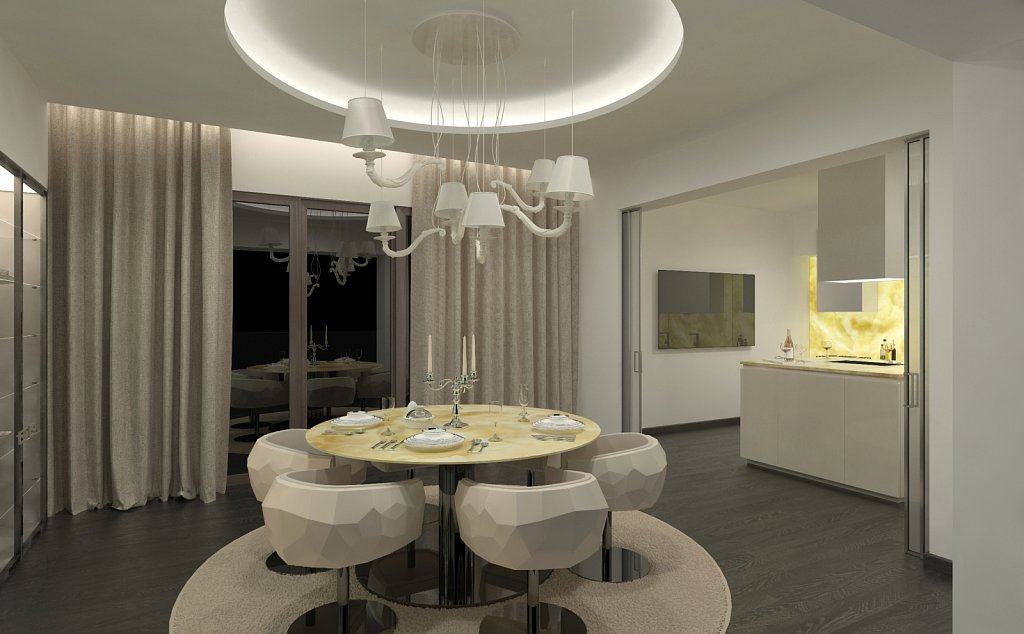 FENDI CASA Dining Zone